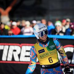 Julia Mancuso all smiles - © Sarah Brunson/U.S. Ski Team