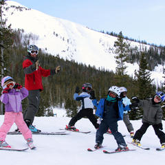 Kids Camp Lessons - © Lonnie Ball/Big Sky Resort