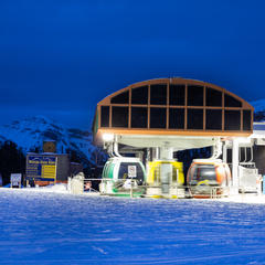Accommodations at Sunshine Village - ©Liam Doran