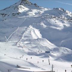 Ischgl - jedno z najväčších lyžiarskych stredísk v Rakúsku