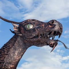 Socha draka Demiána na Chopku - © TMR