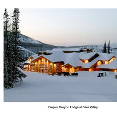 Deer Valley Utah Empire Canyon Lodge