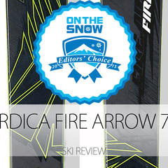 2015 Men's Frontside Editors' Choice Ski: Nordica Fire Arrow 76 TI - ©Nordica