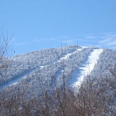 Sugarbush, Vermont in snow