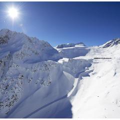 Ľadovec Rettenbach v Söldene - © Ötztal Tourismus