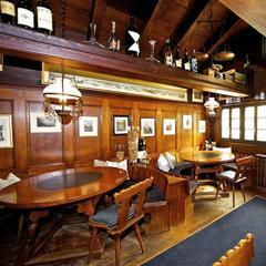 Elsie bar housed in a two-storey wooden chalet in Zermatt - © Elsie Bar