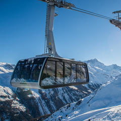 Nová gondola v Grimentz-Zinal - © Val d'Anniviers Valais