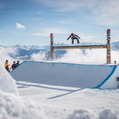 Five reasons to ski Laax: Parks & pipes - ©Marcel Lämmerhirt | Red Bull Content Pool