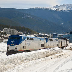 "The ""Winter Park Express"" Amtrak excursion train provides direct service from Denver to Winter Park Resort. - © Winter Park"