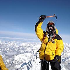 Auf dem Gipfel - ©Dr. Karl Flock