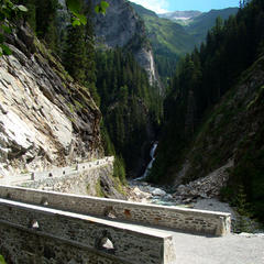 Valle di Lei-Brücke - ©Oskar Hugentobler/aASt