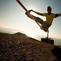 Lukas Irmler: Tricklining an der Westküste der USA - © Christian Rojek©adidas.com/outdoor