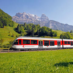 Zentralbahn in Engelberg - ©Engelberg-Titlis Tourismus