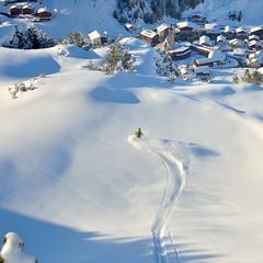 Winter in Lech Zürs am Arlberg