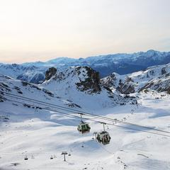 Beautiful views in La Plagne - © La Plagne/Facebook