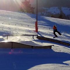 Snow park w ośrodku Dwie DOliny Muszyna - Wierchomla - © Paweł Klimek