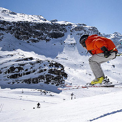 Easter skiing gets boost from sliding ski costs & heavy snowfall - ©Val d'Isere