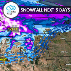 11.2 Snow Before You Go: 1-2 Feet for West - ©Meteorologist Chris Tomer