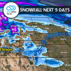 11.9 Snow Before You Go: Snowy Week for West - ©Meteorologist
