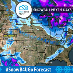 12.7 Snow Before You Go: Storm Track Favors Northeast - ©Meteorologist Chris Tomer