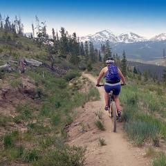 Breck biking - ©James Robles