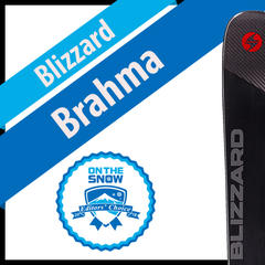 Blizzard Brahma: Men's 17/18 All-Mountain Front Editors' Choice Ski - ©Blizzard