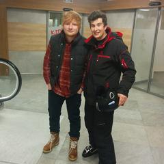 Ed Sheeran, de opname van 'Perfect' - © Adam Ostrowski