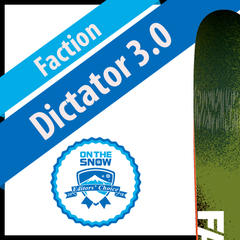 Faction Dictator 3.0: Men's 17/18 Big Mountain Editors' Choice Ski - ©Faction