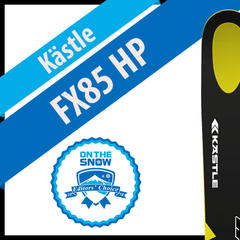 Kästle FX85 HP: Men's 17/18 All-Mountain Front Editors' Choice Ski - ©Kästle