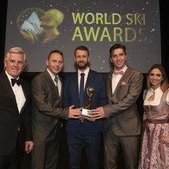 Najlepším slovenským lyžiarskym strediskom je znovu Jasná Nízké Tatry. Cenu prevzal riaditeľ strediska Matej Hulej. - © World Ski Awards
