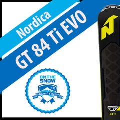 Nordica GT 84 Ti EVO: Men's 17/18 Frontside Editors' Choice Ski - ©Nordica