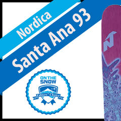 Nordica Santa Ana 93: Women's 17/18 All-Mountain Front Editors' Choice Ski - ©Nordica