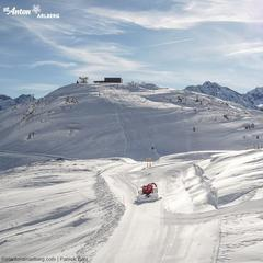 Przygotowanie do sezonu w St. Anton am Arlberg - © Facebook St. Anton am Arlberg