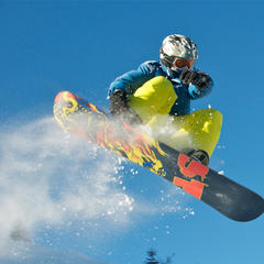 Snowboarder in Bayern - © Bayern Tourismus