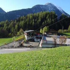 Tady se staví nová údolní stanice 10-místné lanovky EUB Finkenberg I - © BAUTAGEBUCH FINKENBERGER ALMBAHNEN I