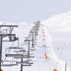 damage pistes de ski Tignes - © Station de Tignes