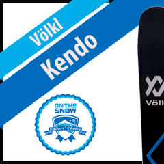 Völkl Kendo: Men's 17/18 All-Mountain Front Editors' Choice Ski - ©Völkl
