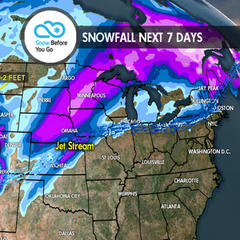 2.22 Snow Before You Go: Plenty of Powder for the Weekend - ©Meteorologist Chris Tomer
