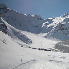 Gli Azzurri dello sci in allenamento a Madesimo dal 7 al 12 Febbraio