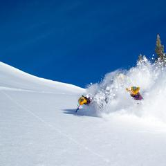 Hang loose in deep Jackson Hole Powder - © Jackson Hole