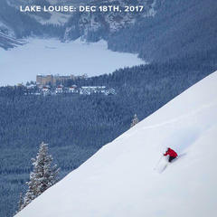 Lake Louise Ski Resort Dec. 18th, 2017 - © Chris Moseley