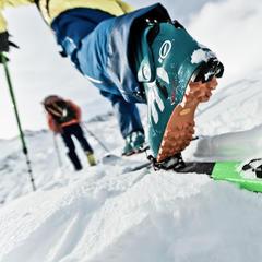 Marker Alpinist: Ľahké uhlíkové skialpové viazanie - ©Marker