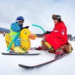 Skiareál Lipno - Lyžařská Fox škola - © Skiareál Lipno