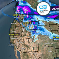 3.29 Snow Before You Go: 2 Storms for West - ©Meteorologist Chris Tomer