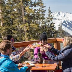 Alpino Vino, Telluride is the highest restaurant in North America - © Visit Telluride/Ryan Bonneau