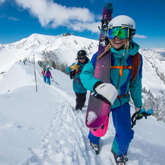 Some of the most challenging terrain in the region at Snowbird - © Scott Markewitz