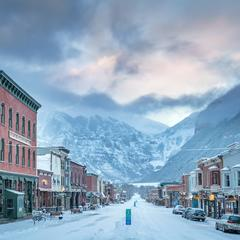 The iconic main street, Telluride - © Visit Telluride/Ryan Bonneau
