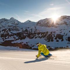 pistes de ski Adelboden - © Adelboden Tourismus / Roger Gruetter
