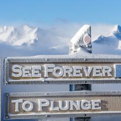 Telluride's See Forever iconic groomer - © Visit Telluride/Ryan Bonneau