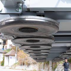 Blick auf die neue U-Bahn in Serfaus - © Serfaus-Fiss-Ladis (c) Seilbahn Komperdell GmbH